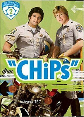 NEU & OVP: CHiPs STAFFEL 2 (4 DVDs)