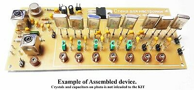 Device for measure crystals, adjusting and fine tuning of quartz filters.KIT DiY