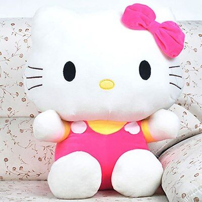 Kitty Hello Plush Sanrio Doll Toy Pink Dress Stuffed Limited Rare 20cm 8inches