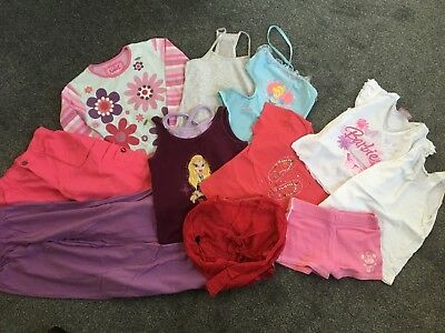 Bundle of 11 items of Girls Clothing (aged 5-6) including NEXT, BHS, M&S