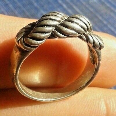 Ancient Legionary Silver Roman Ring