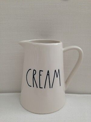 Rae Dunn Cream Small Pitcher - RARE