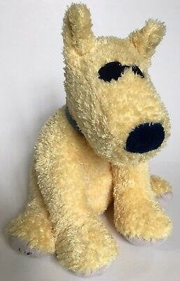 Life Is Good Mary Meyer Rocket Dog Puppy 8 Yellow Plush Red Scarff