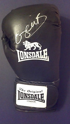 KELL BROOK Signed LONSDALE BOXING GLOVE British Champion  COA