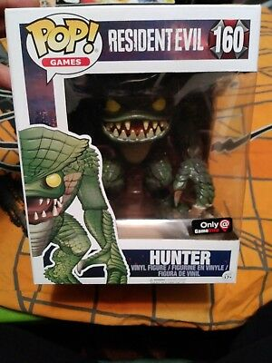 Funko POP! Games  Resident Evil Hunter #160 Gamestop Exclusive 20th anniversary