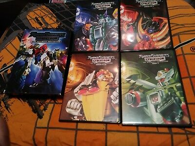 Transformers Cybertron: The Ultimate Collection 2008 7 DVD disc animated cartoon