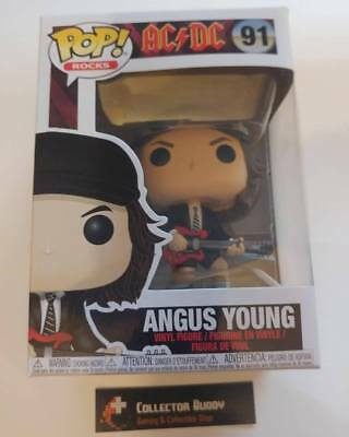 Funko Pop! Music Rocks 91 AC DC Angus Young Pop Vinyl Action Figure FU36318