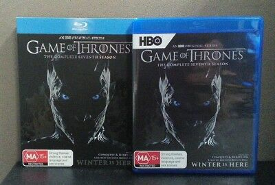Game Of Thrones:Complete Seventh Season  (Blu-ray w/Slipcover) Region B LIKE NEW