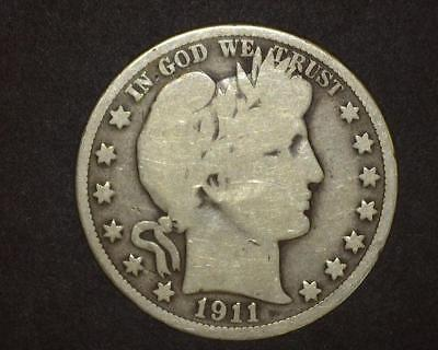 1911 Barber Half-Dollar  Good Plus    6~395079-Lb615Ra