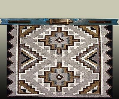 """Quilt Hangers,""""Blue and Bronze"""",Will hold 29.5 inch Quilt,Rug,Can be customized!"""