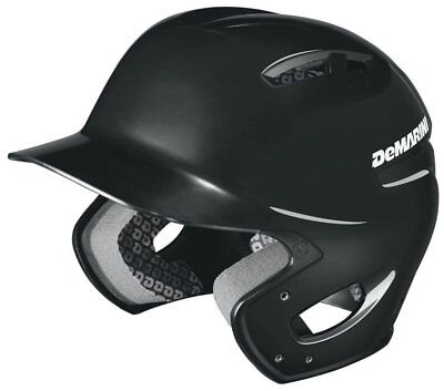 DeMarini Paradox Protege Pro Batting Helmet Black Youth 6 1/2 and Below Glossy