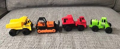 Vintage Mini Tonka Construction Trucks And Bulldozer 27 00 Picclick