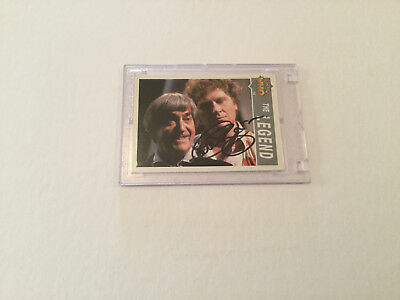 Dr. Who Colin Baker Hand Signed Trading Card**TAKE A LOOK**