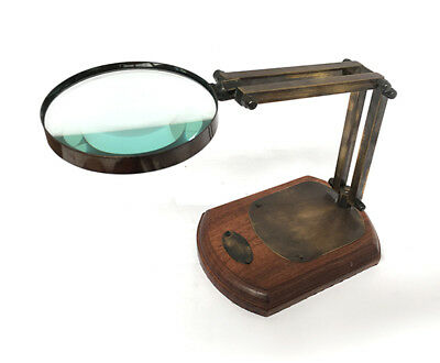 Magnifying Glass - Watts & Sons Ltd - VINTAGE NAUTICAL AUSTRALIA