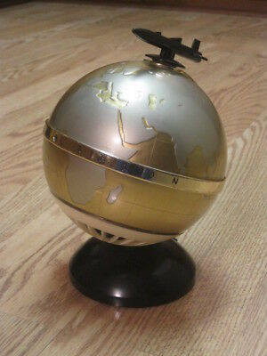 Vintage 1950's Constellation World Globe Transistor Radio with Rare Rocket Dial