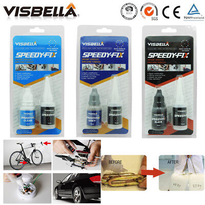 Visbella Speedy Fix Filling Reinforcing Adhesive Glue Powder Quick Bonding