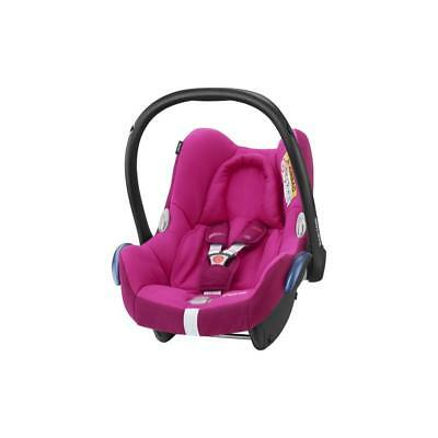 Maxi-Cosi CabrioFix Baby Car Seat Group 0+, ISOFIX, 0-12 Months, Frequency Pink,