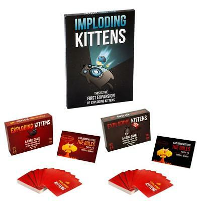 Table Game Card IMPLODING KITTENS Exploding Game Party Gifts Kittens Friend
