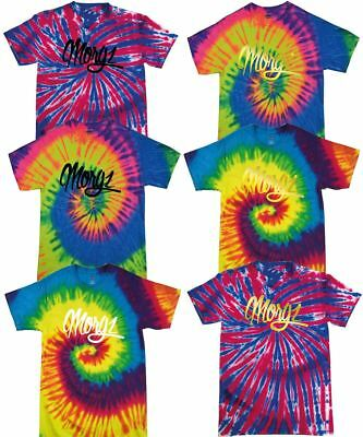Color Tone Tie Dye Kids TShirt Morgz Youtuber Gaming Gamer Music Festival Tshirt