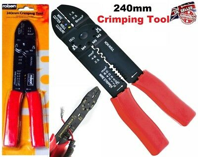 Crimping Tool Cable Cutter Electrical Wire Stripper Pliers Crimper Cutting Diy