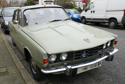 Rover P6 2200TC 1975, manual 4-speed, low mileage, tax exempt.