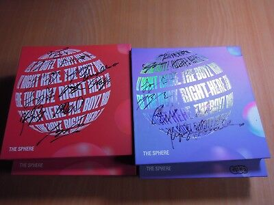 The Boyz - The Sphere (1st Single Promo) with Autographed (Signed)