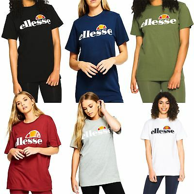 Ellesse Women's Albany T-Shirt - Black, White, Green, Grey, Blue, Red - UK 8-14
