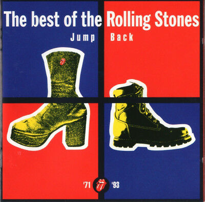 The Rolling Stones ‎– Jump Back (The Best Of The Rolling Stones '71 - '93) - CD
