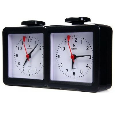 LEAP PQ9905 Quarz Analog Chess Clock I-go Count Up Down Timer for Game Competiti