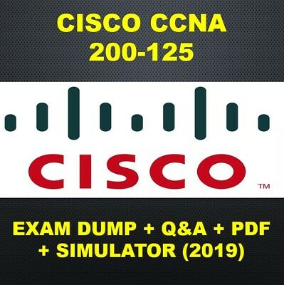 Cisco CCNA 200-125 Exam QA PDF & Sims (2019)