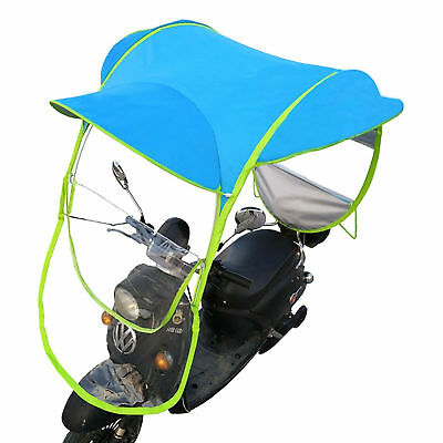 Universal Moped Ped Scooter Umbrella Mobility Sun Shade & Rain Cover Waterproof