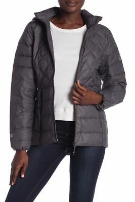 1e246d798 NEW NWT GERRY Packable Down Hooded Womens Jacket Black Size LARGE ...