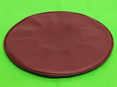 Vespa Leather Oxblood Design Spare Wheel Cover 8 Inch