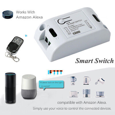 Phone Remote Control Wireless RF Receiver Timer Relay Wifi Smart Switch