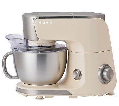 BERG 1000W 4L Electric Stand Mixer - Cream RRP £319