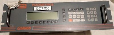 Panametrics GM868 - Rackable Ultrasonic Gas Flowmeter - Model: GM868-1-29-10004