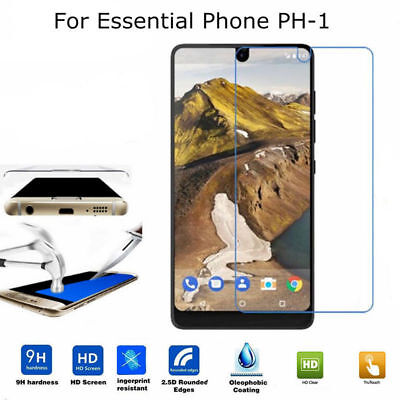 Ultra Slim Tempered Glass Screen Protector for Essential Phone PH-1 ( 2 Pcs )