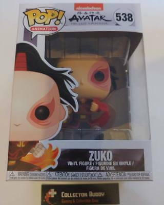 Funko Pop! Animation 538 Avatar The Last Airbender Zuko Pop Vinyl Figure