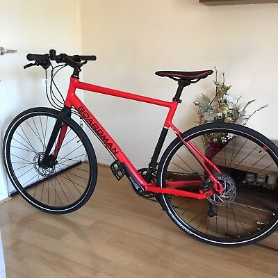 e646256b690 BOARDMAN HYB 8.6 Hybrid Bike Bicycle 700c Wheels Red Large - £399.00 ...