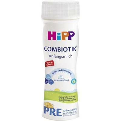 HiPP Ready to Feed Stage PRE Organic BIO Combiotik Baby Formula 200ml - 6 pack