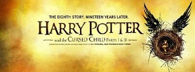 Harry Potter and the Cursed Child - March 9th - Melbourne PARTS 1 AND 2 Stalls V