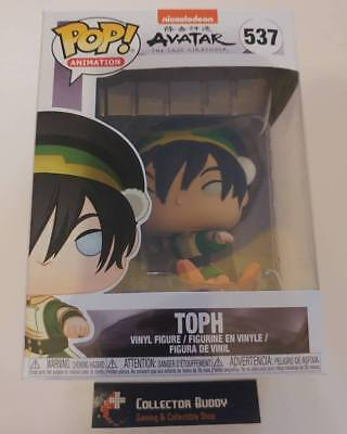 Funko Pop! Animation 537 Avatar The Last Airbender Toph Pop Vinyl Figure FU36469