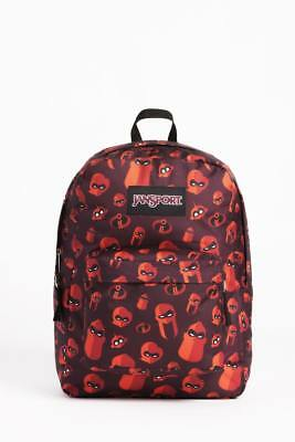 84242bb9748 JanSport X Disney Pixar Incredibles 2 Family Icon Unisex SuperBreak Backpack  NEW