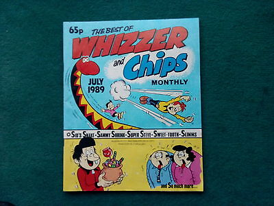 The Best Of Whizzer And Chips Monthly Comic July 1989