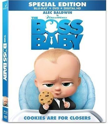 The Boss Baby - Special Edition - Blu-ray + DVD + Digital HD (With Slipcover)