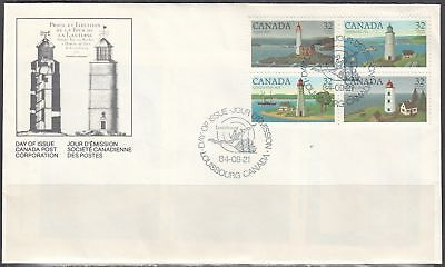 Canada Scott 1035a FDC - Canadian Lighthouses