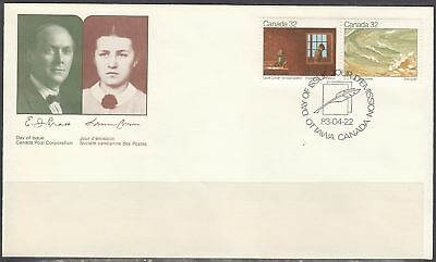Canada Scott 979a FDC - Canadian Writers Issue