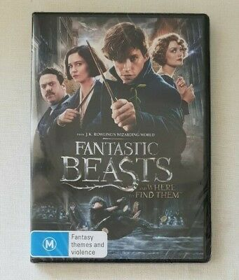 Fantastic Beasts and where to find them (2017) R4 DVD Brand New Factory Sealed