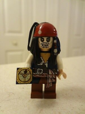 Captain Jack Sparrow w/ Compass Mini Figure LEGO Pirates of the Caribbean