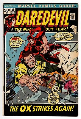 Daredevil Vol 1 No 86 Apr 1972 (VFN-) (7.5) Marvel Comics,Bronze Age (1970-1979)
